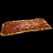 Pizza rossa in teglia