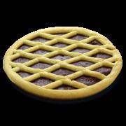 Crostata con crema di Cacao e Nocciole