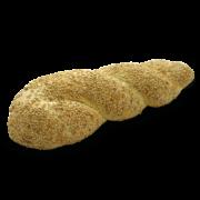 Treccia di grano duro con sesamo